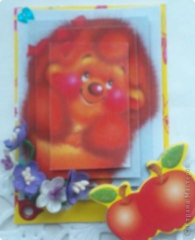 """Думаю, пришло время собрать вместе АТС-карточки по игре Елены Гайдаенко """"Поиграем"""".Для картинок, отправленных девочкам, я использовала старые открытки. Оксана Ефимова """"Мама"""" (так Оксана назвала карточку). фото 6"""