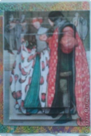 """Думаю, пришло время собрать вместе АТС-карточки по игре Елены Гайдаенко """"Поиграем"""".Для картинок, отправленных девочкам, я использовала старые открытки. Оксана Ефимова """"Мама"""" (так Оксана назвала карточку). фото 8"""