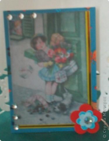 """Думаю, пришло время собрать вместе АТС-карточки по игре Елены Гайдаенко """"Поиграем"""".Для картинок, отправленных девочкам, я использовала старые открытки. Оксана Ефимова """"Мама"""" (так Оксана назвала карточку). фото 5"""