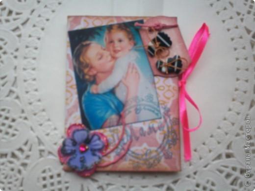 """Думаю, пришло время собрать вместе АТС-карточки по игре Елены Гайдаенко """"Поиграем"""".Для картинок, отправленных девочкам, я использовала старые открытки. Оксана Ефимова """"Мама"""" (так Оксана назвала карточку). фото 1"""