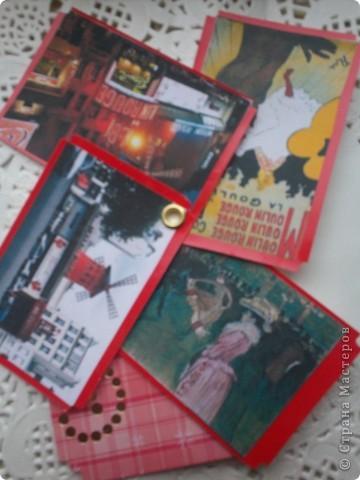 """АТС-игра Олисандры. Тема """"Влюбленный в Париж"""". Эта карточка, одна из двух, осталась у меня. фото 5"""