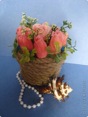 корзина роз фото 1