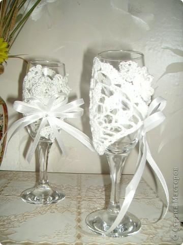 Бокалы к свадьбе подруги фото 2