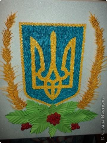 Украинский венок. Работа сделана на заказ. фото 2