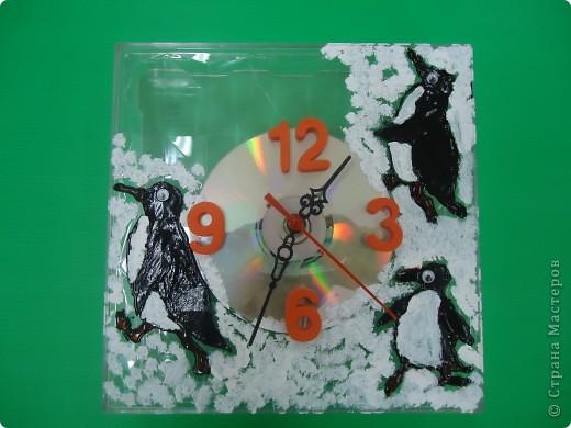Часы - ТАМ,ГДЕ ВСЕГДА МОРОЗ... - из ничего фото 1