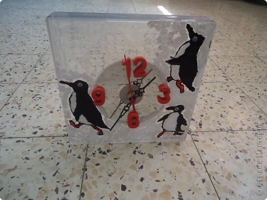 Часы - ТАМ,ГДЕ ВСЕГДА МОРОЗ... - из ничего фото 5