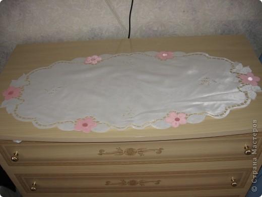 Салфетка на комод в спальню фото 1
