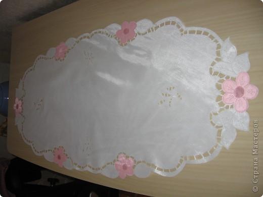 Салфетка на комод в спальню фото 2