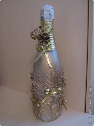 новогодняя бутылка 3