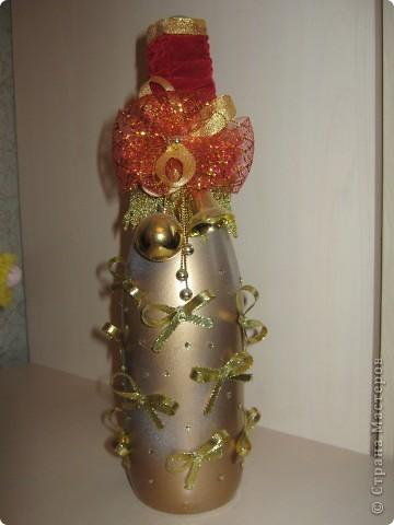 новогодняя бутылка 2