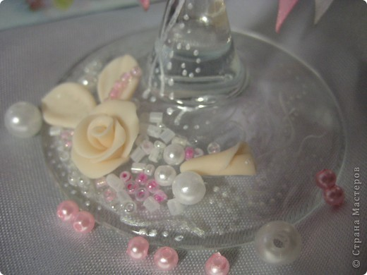 Розовая веточка в ажурных завиточках))) фото 3