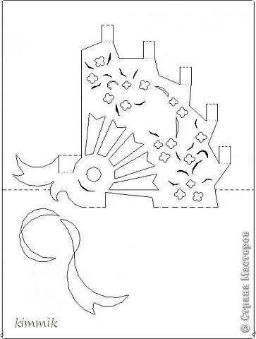и снова открытки+ схемки Киригами, pop-up.