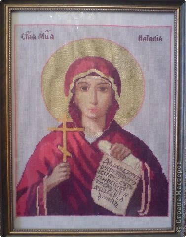Иконы вышитые крестом фото 6