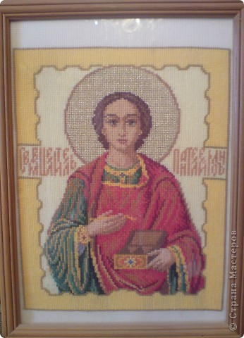 Иконы вышитые крестом фото 4