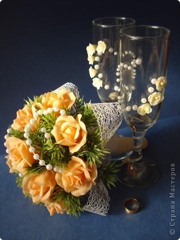 мой свадебный букет фото 4