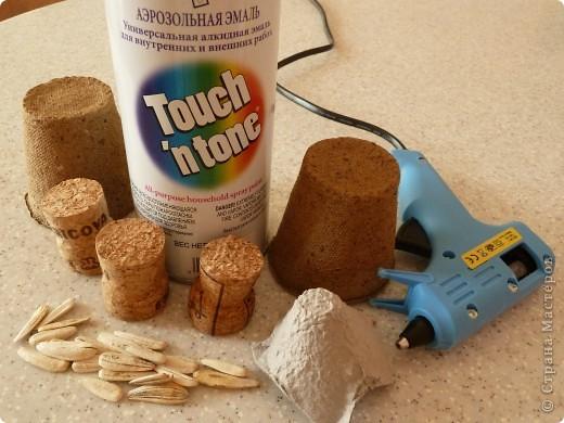 Представляю вашему вниманию мастер-класс по изготовлению ели из семян подсолнечника. Делается легко с минимумом затрат. фото 2