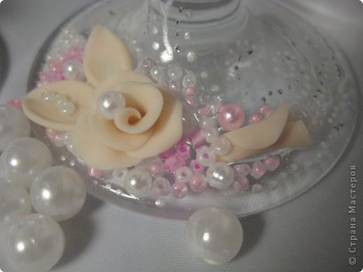 Было сразу два заказа на розовенькие с розами. Эти посветлее,для тех кто любит понежнее... фото 3