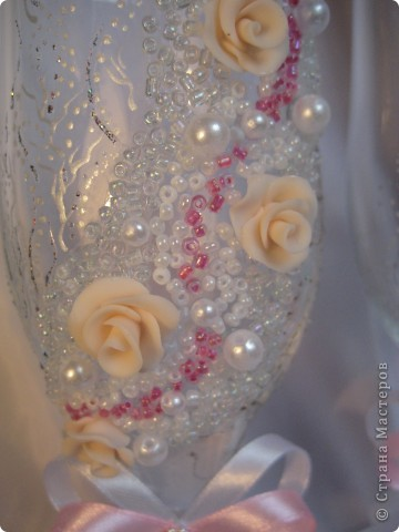 Было сразу два заказа на розовенькие с розами. Эти посветлее,для тех кто любит понежнее... фото 5