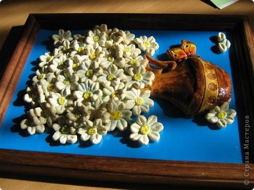 Многим женщинам нравятся ромашки по МК Ларисы Ивановой.Получила два заказа на них,но очень не хотелось повторятся,и решила поэксперементировать... фото 5