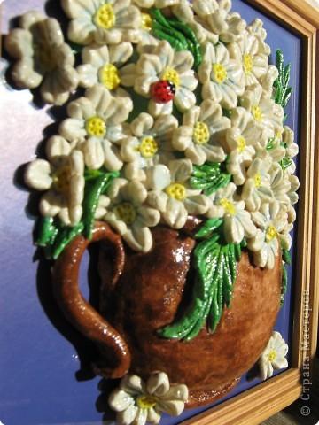Многим женщинам нравятся ромашки по МК Ларисы Ивановой.Получила два заказа на них,но очень не хотелось повторятся,и решила поэксперементировать... фото 3