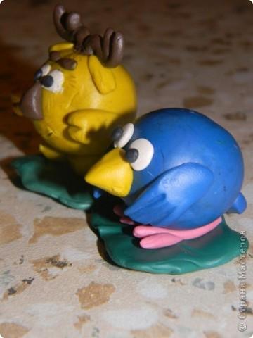 Пластилиновая ворона, точнее карыч и другие смешарики) фото 4
