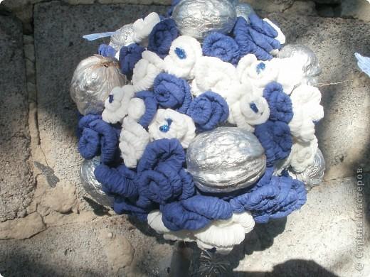 Сине-белое дерево счастья фото 2