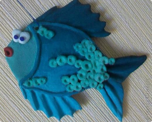А вот и подружка для моей синенькой рыбки. фото 3