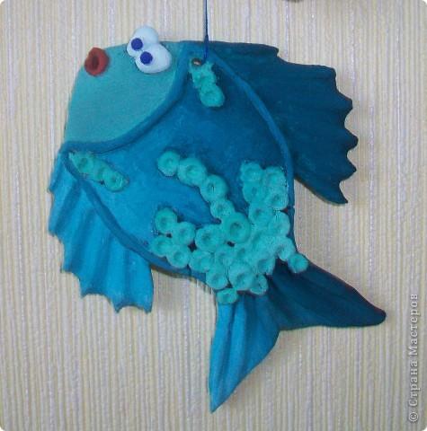 А вот и подружка для моей синенькой рыбки. фото 2