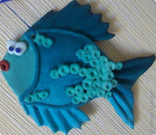 А вот и подружка для моей синенькой рыбки. фото 1