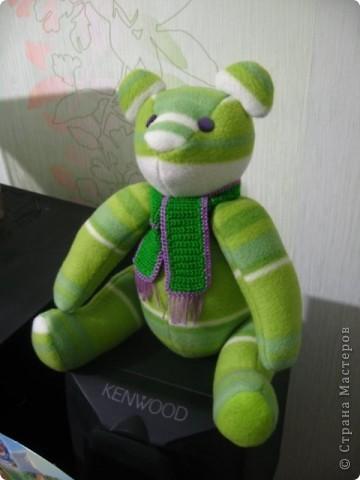 Зеленый мишка фото 5