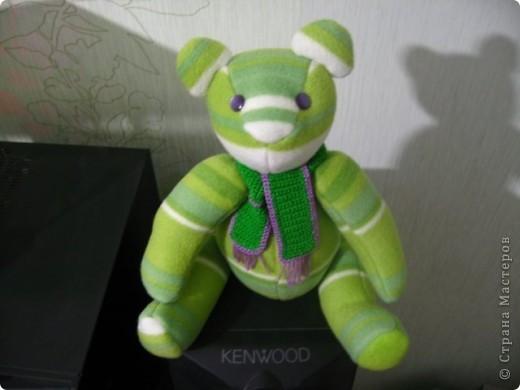 Зеленый мишка фото 3
