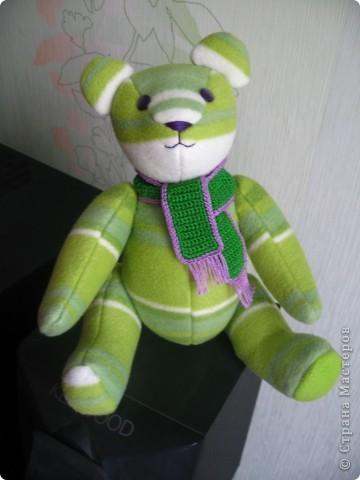 Зеленый мишка фото 2
