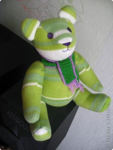 Зеленый мишка фото 1