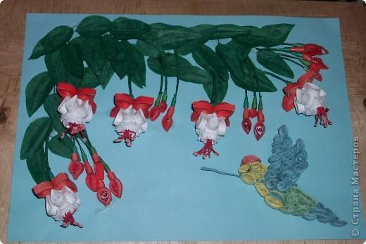 это розовые цветы сделанные по МК Галкиной Инны за что ей большое спасибо! фото 5