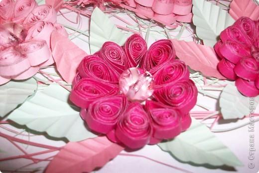 это розовые цветы сделанные по МК Галкиной Инны за что ей большое спасибо! фото 3