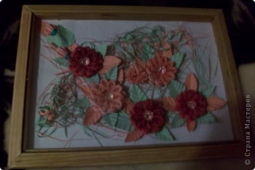 это розовые цветы сделанные по МК Галкиной Инны за что ей большое спасибо! фото 1