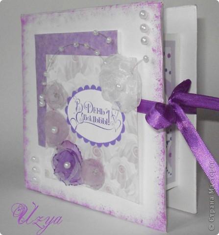 Здравствуйте!) На свадьбу подруги впервые сделала коробочку для денег...вот что получилось) фото 2
