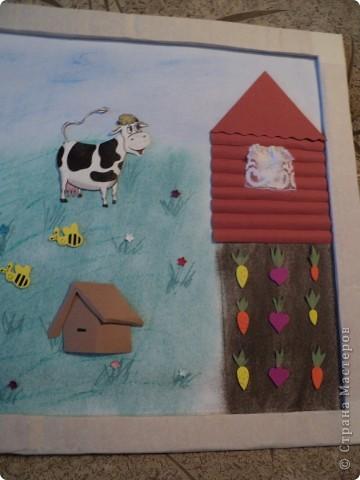 """В детском саду был конкурс """" Как мы провели лето"""" Вот такую картинку мы сделали.  Спасибо за МК Александра - Aliska. фото 3"""