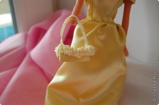 Это мои первые шаги в шитье,шить не умею вот решила попробовать на куклах,как получилось судить вам фото 6