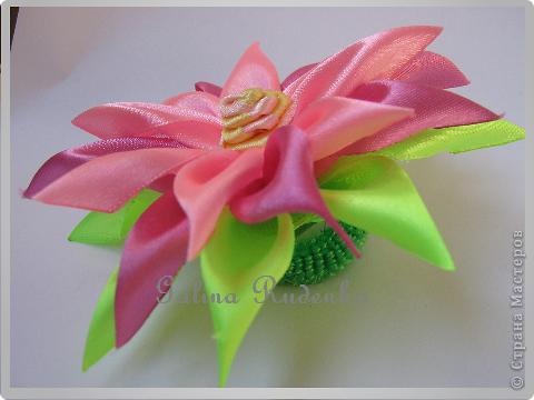Хотела сделать экзотический цветок, а получился осенний. фото 4