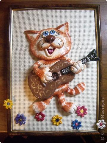 Валдис - гитарист (повторюшка работ Марины Архиповой) фото 2