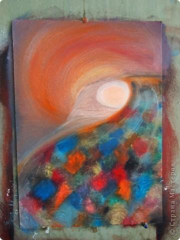 Моя первая картина написанная маслом.  фото 8