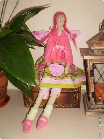 Цветочная феечка - тильда фото 1