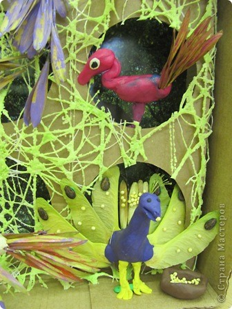 "Итог урока труда в 4 классе.  Тема ""Поделка из пластилина и семян ясеня, клена"" фото 5"