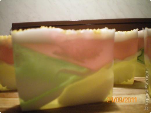 геометрическо-свирловое мыльце фото 3