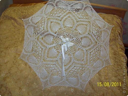 свадебный зонтик фото 1
