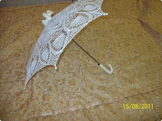 свадебный зонтик фото 2
