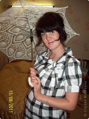 свадебный зонтик фото 3