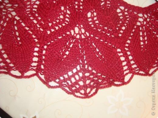 Вот такой бактус получился у меня, вязала по схеме www.ravelry.com/patterns/library/haruni размер 66 см на 36 см фото 4