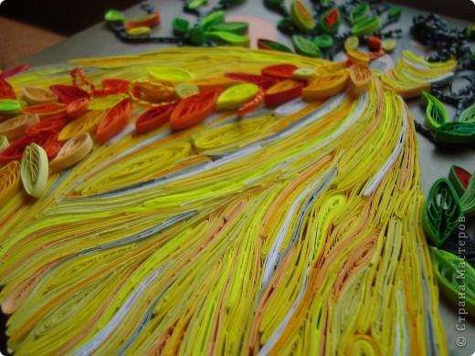 Девушка-осень плетёт кружева фото 4